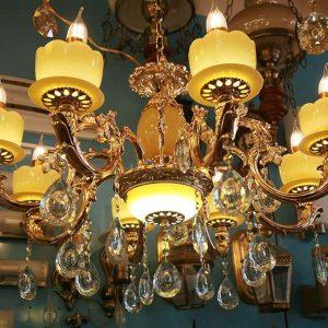 đèn chùm trang trí đèn chùm giá rẻ đèn chùm pha lê đèn chùm phòng khách đèn âm trần