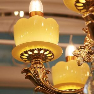 đèn chùm pha lê cao cấp