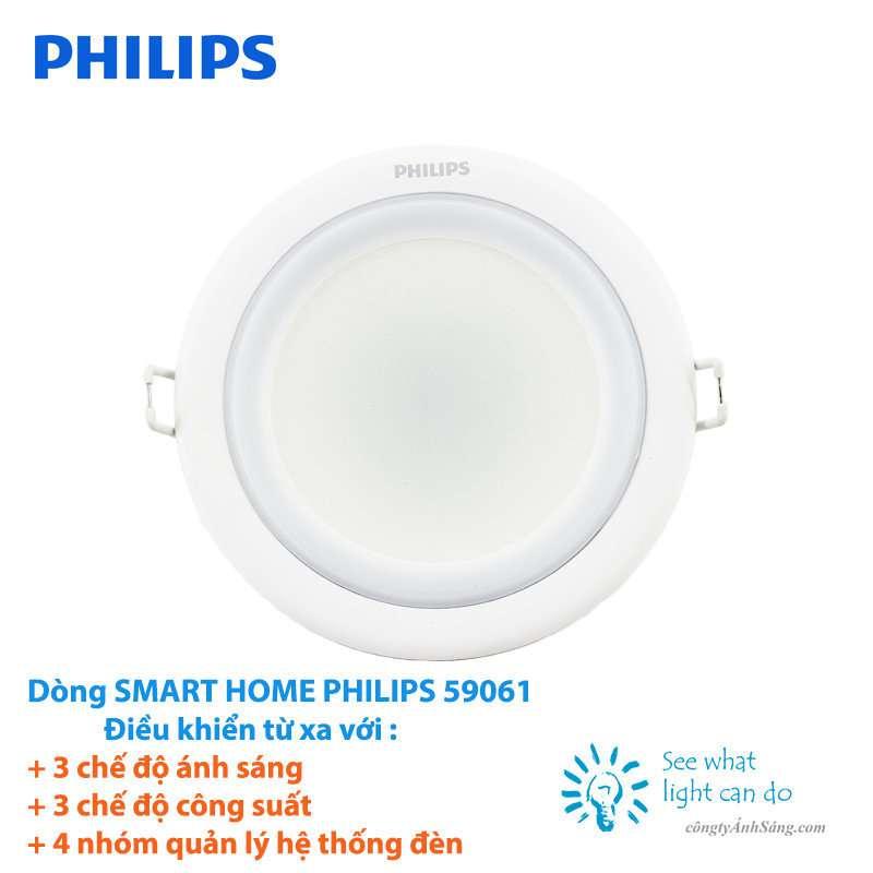 Đèn Âm Trần SMART HOME PHILIPS 59061 (1)