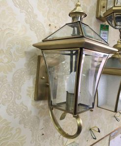 đèn tường đồng kính B6052-B