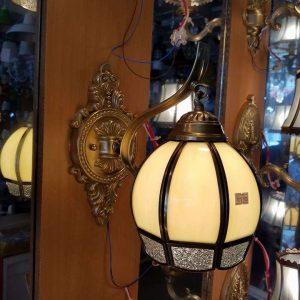 đèn tường đồng kính B9019-1