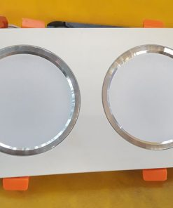 Âm trần vuông đôi A6 14w 3 chế độ sáng