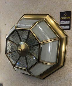 Đèn ốp trần chất liệu bằng đồng phù hợp với kiến trúc châu Âu cách tân phong cách cổ điển và tân cổ điển