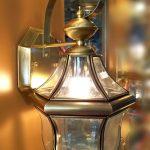 đèn tường đồng kính B6036-A