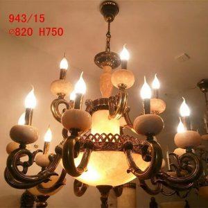 đèn chùm đồng