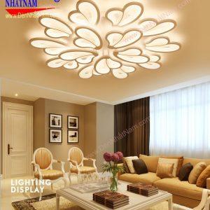 Đèn ốp trần hiện đại dành cho chung cư
