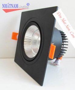 đèn âm trần vỏ đen