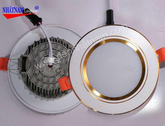 đèn âm trần 3 màu cao cấp (6)