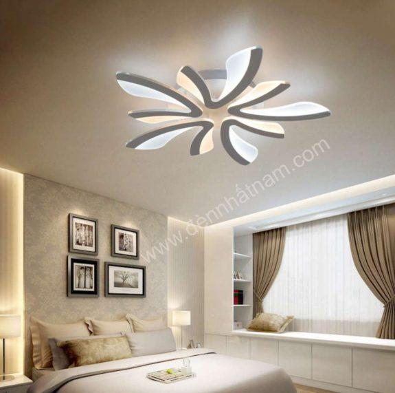 đèn led phòng khách hiện đại