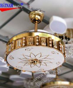 Quạt trần đèn trang trí hiện đại