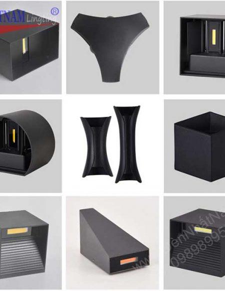 Những mẫu đèn tường led Nội ngoại thất chống nước Phong cách hiện đại