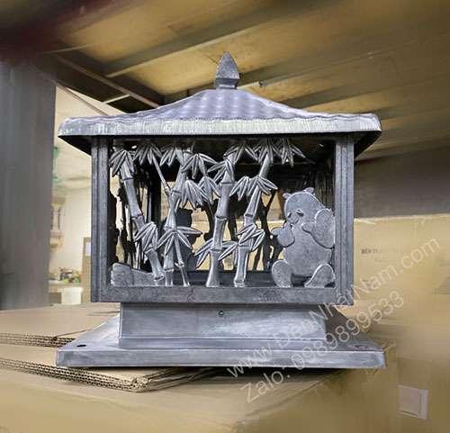 Đèn trụ cổng nhôm đúc cao cấp