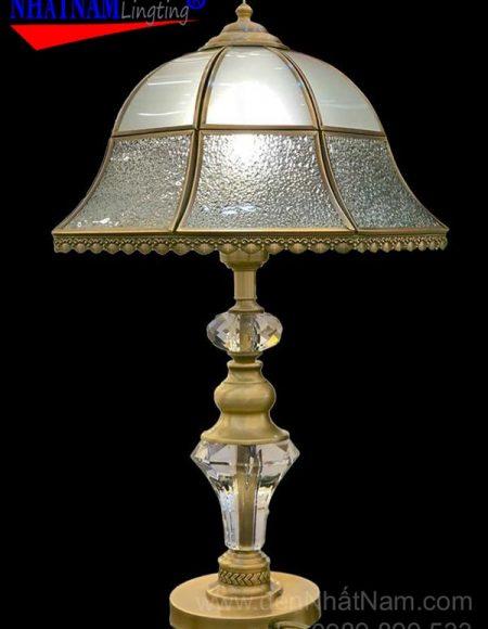 đèn bàn ngủ bằng đồng